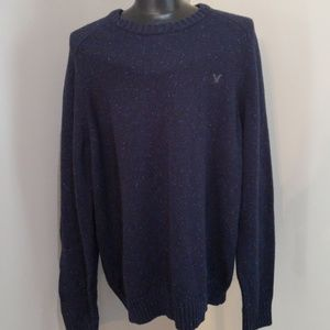 Navy blue American Eagle sweater size xl